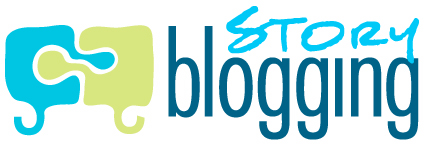 The new StoryBlogging logo