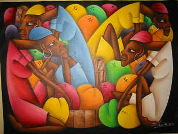 Haitian art of the marketplace